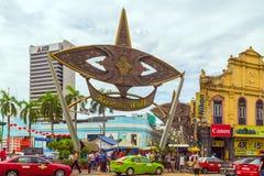 Kasturi går Kuala Lumpur, Malaysia Royaltyfria Bilder
