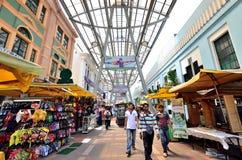 Kasturi går tillsammans med den centrala marknaden, Kuala Lumpur Arkivfoto