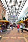Kasturi går tillsammans med den centrala marknaden, Kuala Lumpur Arkivfoton