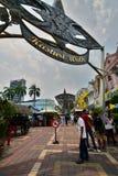 Kasturi spacer kuala Lumpur Malezja Obraz Royalty Free