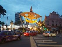 Kasturi spacer w Kuala Lumpur Zdjęcia Stock