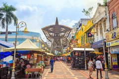 Kasturi Walk Central Market, Kuala Lumpur Stock Photos