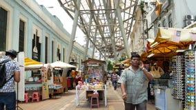 Kasturi Walk is a covered, open-air flea market set along Jalan Kasturi, a lane running alongside Central Market.