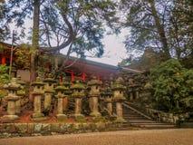 Kasuga świątynia Fotografia Royalty Free