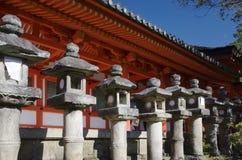 Kasuga Shrine, Nara, Japan. Lanterns and part of Kasuga Taisha complex, Nara, Japan Stock Image
