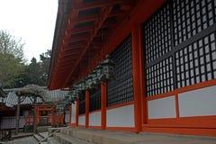 Kasuga Taisha, Nara, Japan Stockbilder