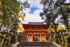 Kasuga Taisha in Nara, Japan Royalty Free Stock Photo