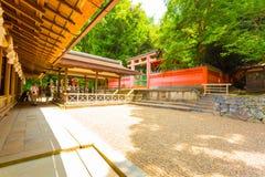 Kasuga-Taisha Rear Rock Garden Stock Photography