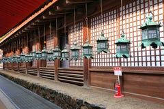 Kasuga Taisha relikskrin, Nara, Japan Royaltyfri Fotografi