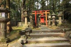 Kasuga Taisha relikskrin, Nara, Japan Fotografering för Bildbyråer