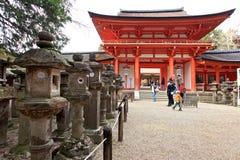 Kasuga Taisha relikskrin, Nara, Japan Royaltyfri Bild