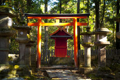 Kasuga Taisha shrine Royalty Free Stock Image