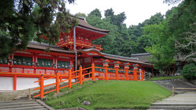 Kasuga Taisha shrine in Nara, Japan Royalty Free Stock Photos