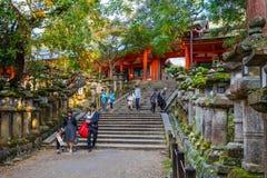 Kasuga Taisha shrine in Nara Royalty Free Stock Photography