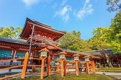 Kasuga Taisha shrine in Nara Stock Images