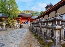 Kasuga Taisha shrine in Nara Royalty Free Stock Photo