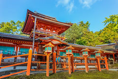 Kasuga Taisha shrine in Nara Stock Image