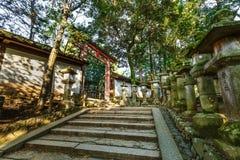 Kasuga Taisha shrine in Nara Stock Image