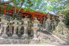 Kasuga Taisha w Nara Zdjęcie Royalty Free