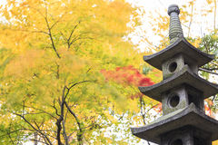 Kasumiga-ike Pond at Kenrokuen Garden in Kanazawa Stock Image