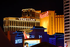 kasyn las Vegas Zdjęcie Stock