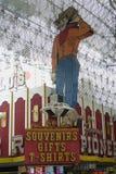 kasyn las świetlicowi poprzedni pionierski Vegas Zdjęcia Royalty Free