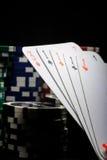 kasyn układ scalony uprawiać hazard Obrazy Stock