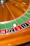 kasyna układ scalony grzebaka rulety serie Fotografia Stock