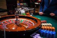 Kasyna, uprawiać hazard i rozrywki pojęcie, obraz stock