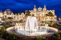 Kasyno Monte - Carlo. Zdjęcia Stock