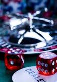 kasynowa ruletka Obrazy Stock