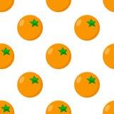Kasynowej Pomarańczowej Płaskiej ikony Bezszwowy wzór Obraz Royalty Free