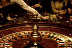 kasynowy bawić się przyjaciół Zdjęcie Stock