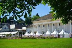 Kasynowy plenerowy Kurhaus Baden-Baden Niemcy Obraz Stock