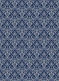 Kaszmir blockprint adamaszka wzór ilustracji