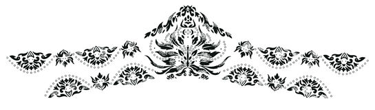 Kaszmir henny projekta moda royalty ilustracja