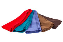 Kaszmirowy szalik, kaszmirowa wełna, tkanina Obraz Royalty Free