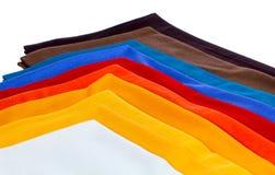 Kaszmirowy szalik, kaszmirowa wełna, tkaniny Obrazy Stock