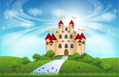 Kasztel obraz royalty free