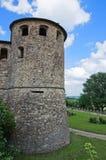 Kasztel Agazzano. Emilia-Romagna. Włochy. Obraz Stock