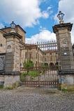 Kasztel Agazzano. emilia. Włochy. Zdjęcie Royalty Free