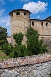 Kasztel Agazzano. emilia. Włochy. Zdjęcia Royalty Free