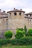 Kasztel Agazzano. emilia. Włochy. Zdjęcie Stock