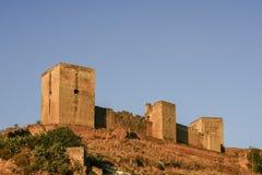 Kasztel Alcal De Guadaira w prowinci Seville, Andalusia Fotografia Royalty Free
