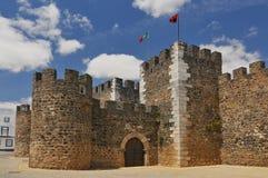 Kasztel Bej Castelo De Bej jest średniowiecznym kasztelem w cywilnej parafii Bej, Portugalia fotografia stock