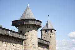 Kasztel Carcassonne Zdjęcia Stock