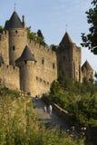 Kasztel Carcassonne - Francja Obraz Royalty Free