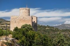 Kasztel Castell De Mur Zdjęcie Royalty Free