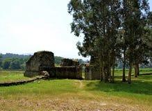 Kasztel Catoira, Pontevedra - Zdjęcie Stock