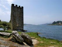 Kasztel Catoira, Pontevedra - Fotografia Stock